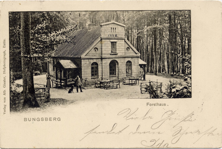 Bungsberg Forsthaus 11.08.1902